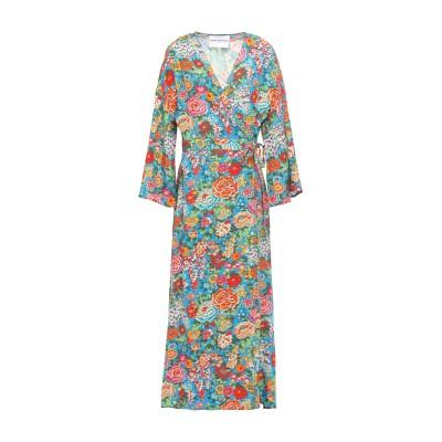 PERSEVERANCE 7分丈ワンピース・ドレス アジュールブルー M レーヨン 100% 7分丈ワンピース・ドレス