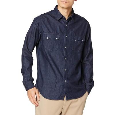 [リプレイ] サルトリアーレ 5oz インディゴツイルコットンデニムシャツ Shirts メンズ ダークブルー EU L (日本サイズL相当)