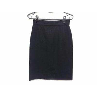 ジャンニヴェルサーチ GIANNIVERSACE スカート サイズ38 S レディース 黒【中古】20201014