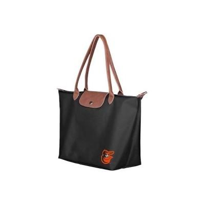 野球 MLB フォーエバーコレクティブル Baltimore Orioles Women's Black Travel Tote Bag