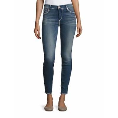 トゥルー リリジョン レディース パンツ デニム Halle Mid-Rise Super Skinny Jeans