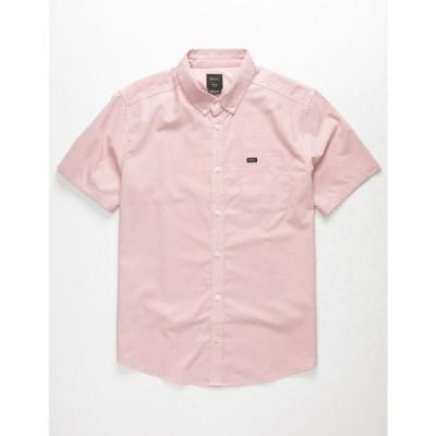 ルーカ RVCA メンズ シャツ トップス That'll Do Stretch Rose Button Up Shirt ROSE
