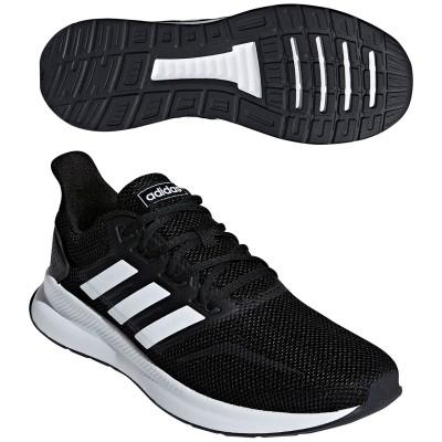 アディダス Adidas FALCONRUN M シューズ 27.5cm コアブラック/ランニングホワイト/コアブラック F36199