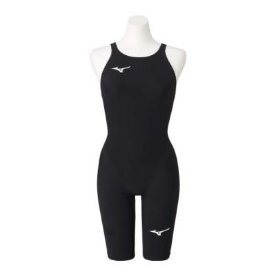 ミズノ 競泳用GX・SONIC NEO ハーフスーツ[レディース] 09ブラック L スイム 競泳水着 N2MG0705