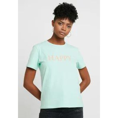 byoung レディーストップス byoung BYTUTTAMI HAPPY - Print T-shirt - paste