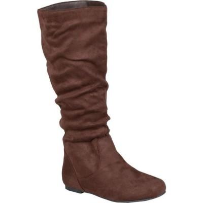 ジュルネ コレクション Journee Collection レディース ブーツ シューズ・靴 Rebecca-02 Boot Brown