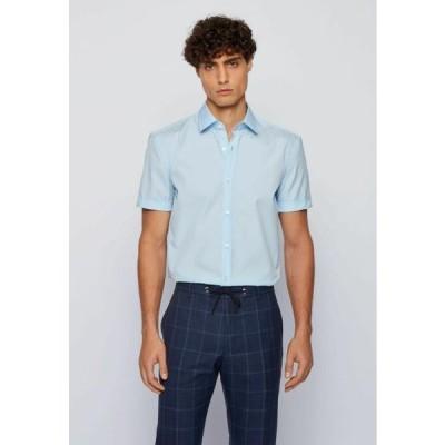 ボス メンズ ファッション JATS - Shirt - light blue