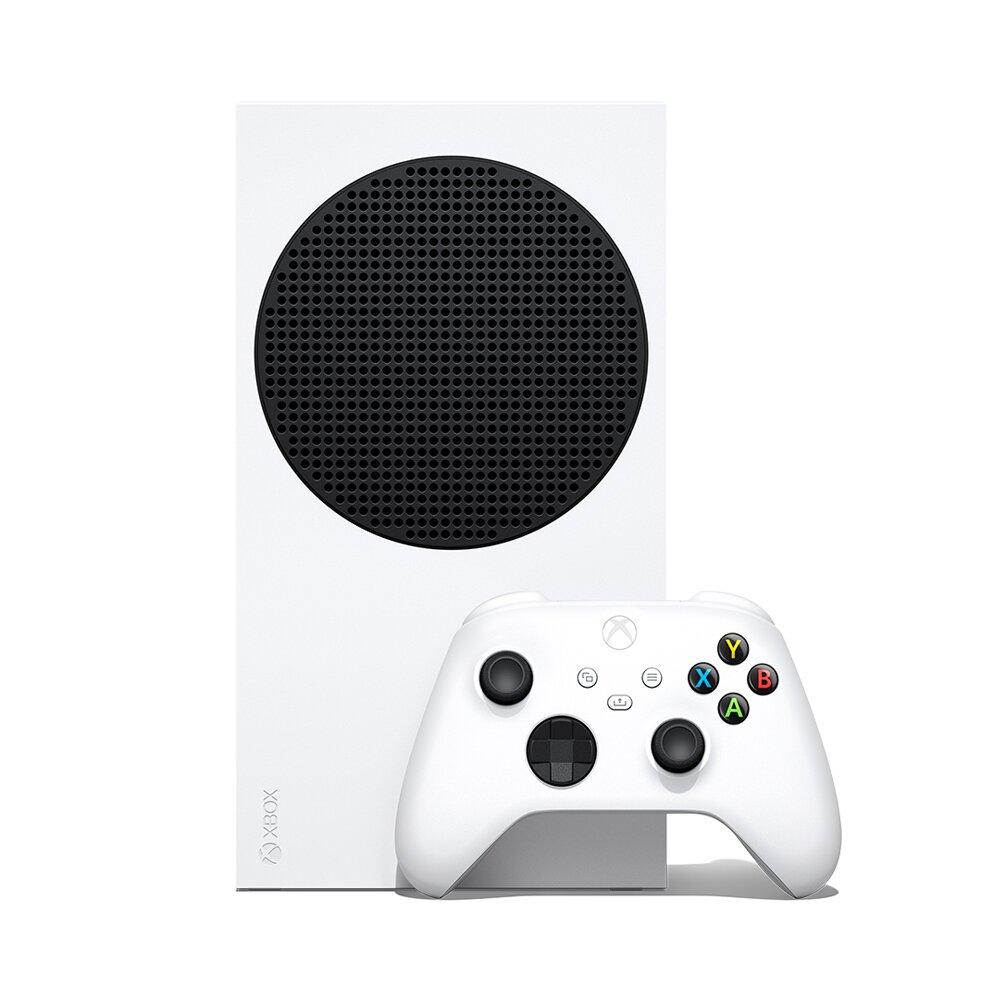 【快速到貨】Microsoft Xbox Series S 遊戲主機 (無光碟版)+Game pass Ultimate 3個月+手把1隻 同捆組