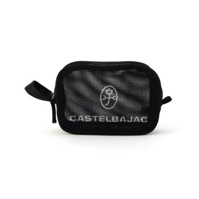 CASTELBAJAC(Ladies)(カステルバジャック(レディース)) ハンドル付きロゴメッシュポーチ