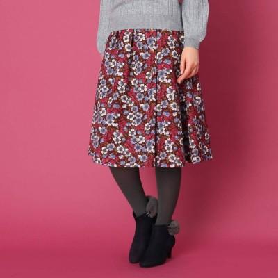Couture Brooch レトロフラワースカート