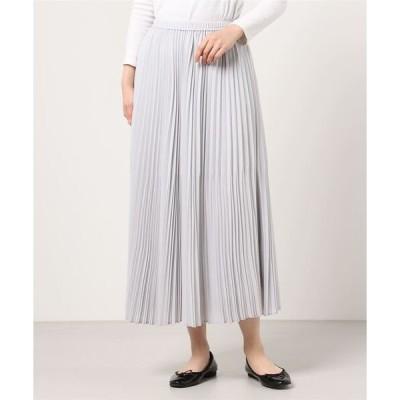 スカート DROIT BELLO(ドロイトベロ)ランダムプリーツロングスカート