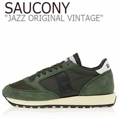 サッカニー ジャズオリジナル スニーカー SAUCONY JAZZ ORIGINAL VINTAGE ジャズ オリジナル ヴィンテージ グリーン S70368-8 シューズ