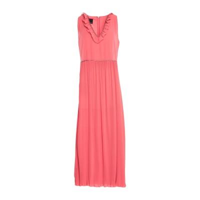 ピンコ PINKO ロングワンピース&ドレス コーラル 38 ポリエステル 100% ロングワンピース&ドレス
