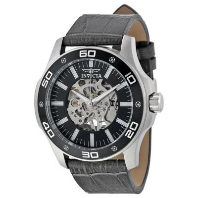 メンズ 腕時計 インヴィクタ New Mens Invicta 17258 Skeleton Hand Wind Watch