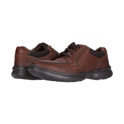 Clarks クラークス メンズ 男性用 シューズ 靴 オックスフォード 紳士靴 通勤靴 Bradley Vibe - Tan Tumbled Leather