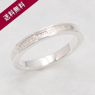 ペアリング 選べる14サイズ メッセージ入りリング 色違いもあります 結婚指輪にもおすすめ かっこいい おしゃれ シルバーリング リング 指輪 シンプル
