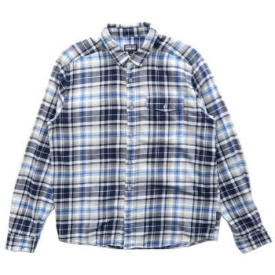Patagonia パタゴニア チェックシャツ 長袖 チェック アウトドア サイズ表記:M