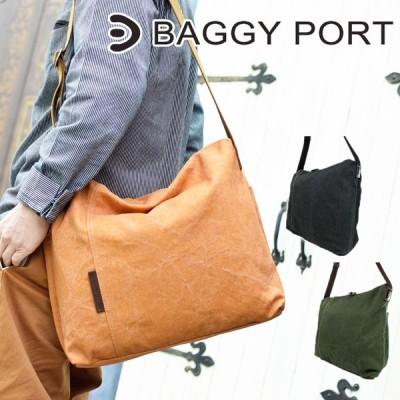BAGGYPORT(バギーポート)フェイス 8号帆布カラーコーティング ショルダーバッグ YNM-1304 メンズ レディース キャンバス 斜めかけバッグ A4サイズ対応