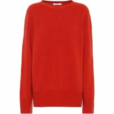 ザ ロウ The Row レディース ニット・セーター トップス Sibel wool and cashmere sweater Vermillion