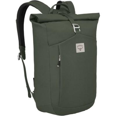 オスプレーパック バックパック・リュックサック メンズ バッグ Arcane Roll Top Pack Haybale Green