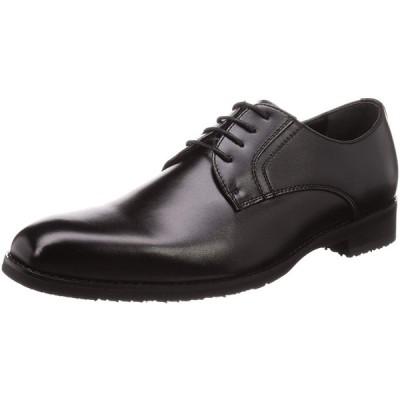 [アオキ] 幅広4Eビジネスシューズ プレーンデザイン/ゆったり履きやすい クロ 26 cm 4E