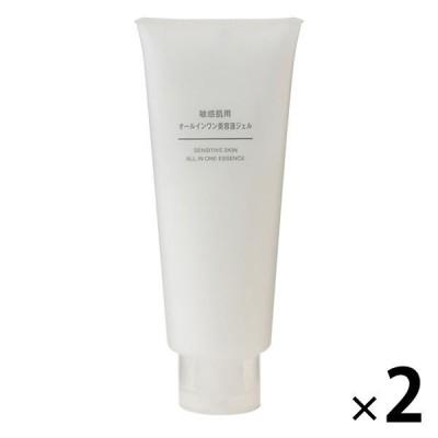 無印良品 敏感肌用オールインワン美容液ジェル(大容量) 200g 2個 良品計画