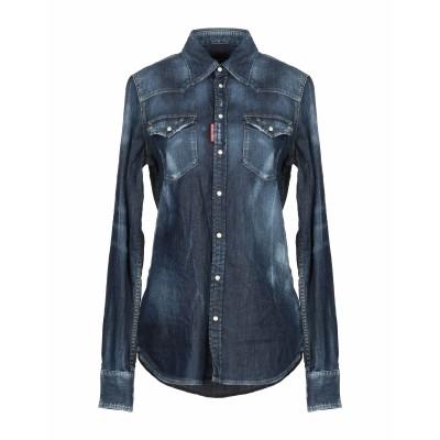 ディースクエアード DSQUARED2 デニムシャツ ブルー 38 コットン 98% / ポリウレタン 2% デニムシャツ