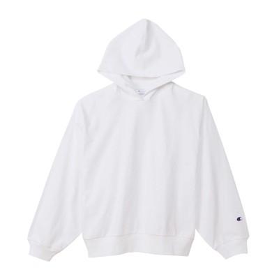 ウィメンズ ロングスリーブフーデッドTシャツ 21SS 【春夏新作】チャンピオン(CW-T406)