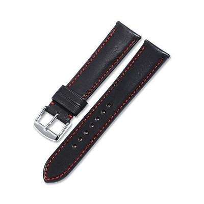 [イストラップ]iStrap 本革時計バンド 18mm 19mm 20mm 21mm 22mm 7色選択 レザー腕時計ベルト 防水 スポーツベルト 柔