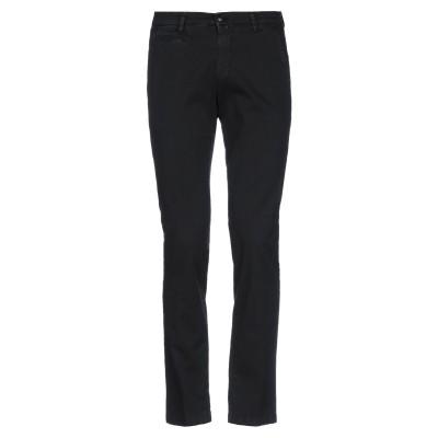 BRIGLIA 1949 パンツ ブラック 44 コットン 97% / ポリウレタン 3% パンツ