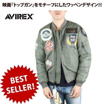 AVIREX アビレックス MA-1 TOP GUN/ MA-1 トップガン 6102172 メンズ