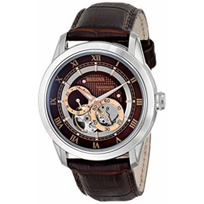 ブローバ Bulova Men's 96A120 BVA Series Dual Aperture Dial Watch [並行(中古品)