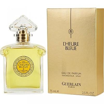 コスメ 香水 女性用 ケルン  L'HEURE BLEUE by Guerlain EAU DE PARFUM SPRAY 2.5 OZ for WOMEN ---(Package Of 6) 送料無料