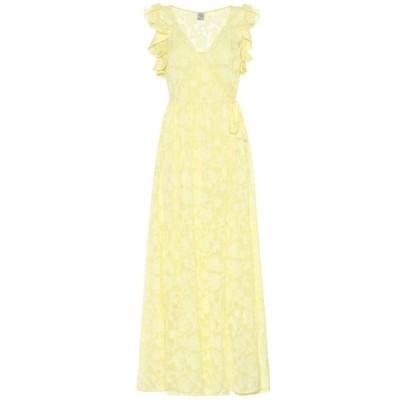 バウム ウンド ヘルガーデン Baum und Pferdgarten レディース ワンピース マキシ丈 ワンピース・ドレス Aiza silk-blend maxi dress Lime Light