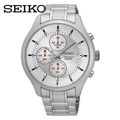 セイコー 紳士腕時計 クォーツ クロノグラフ SKS535P