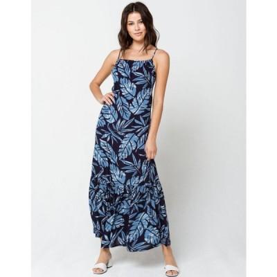 ヴィスラ SISSTREVOLUTION レディース ワンピース マキシ丈 ワンピース・ドレス Tropical Hideaway Maxi Dress NAVY