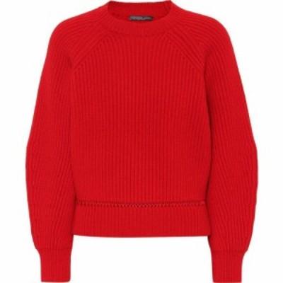 アレキサンダー マックイーン Alexander McQueen レディース ニット・セーター トップス Wool and cashmere sweater Lust Red