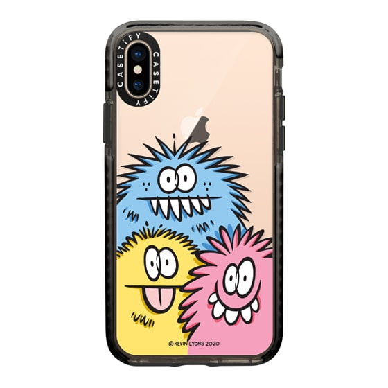 CASETiFY iPhone Xs Impact Case - Kevin Lyons- 3 Corner Monsters