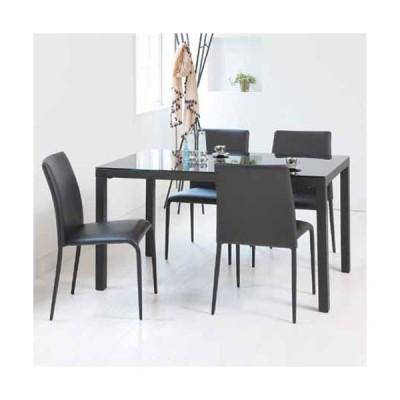 ダイニングテーブル 4人用 5点セット ガラス テーブル チェア コーディネート 食卓テーブル キッチンテーブル ダイニング 食卓 キッチン 送料無料 GDT-763169S