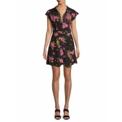 フリーピープル レディース ワンピース Alora Floral Print Mini Dress