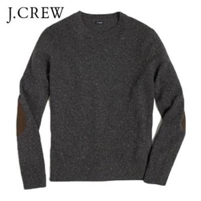 ジェイクルー セーター メンズ 正規品 J.CREW  DONEGAL ELBOW-PATCH SWEATER