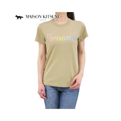 SUMMER FINAL SALE/メゾンキツネ/MAISON KITSUNE レディース Tシャツ EW00135 KJ0008/ベージュ/BEIGE/20ss/セール