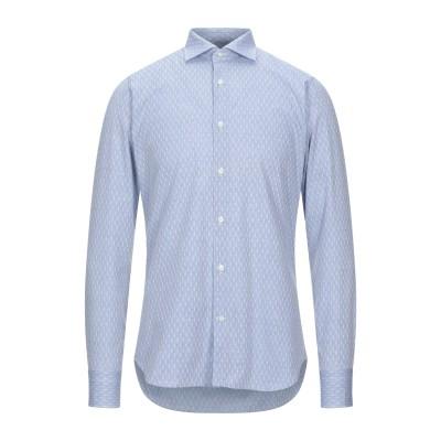 カリバン CALIBAN シャツ ブルーグレー 39 コットン 100% シャツ