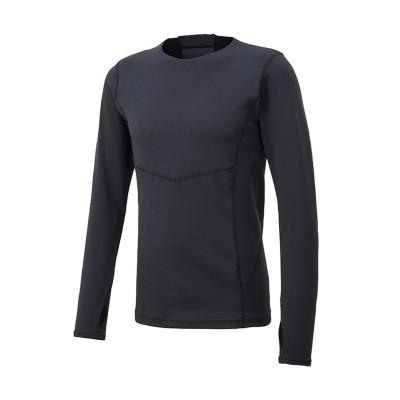 【デサント】 パフィーアンダーシャツ / PAFFY UNDER SHIRT ユニセックス ブラック系 M DESCENTE