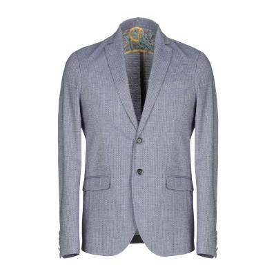 ベルナ BERNA テーラードジャケット ブルー 48 コットン 50% / ポリエステル 50% テーラードジャケット