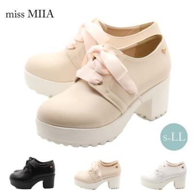 miss MIIA ミスミーア レースアップ パンプス ショートブーツ ma3730ss