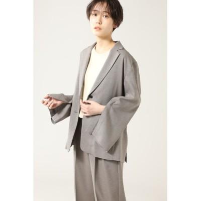 ROSE BUD / 袖スリットテーラードジャケット WOMEN ジャケット/アウター > テーラードジャケット