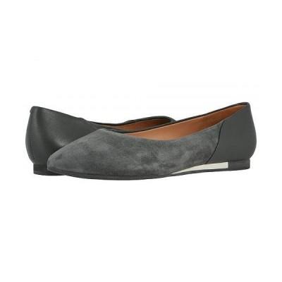 SoftWalk ソフトウォーク レディース 女性用 シューズ 靴 フラット SAVA x SoftWalk Lea - Dark Grey