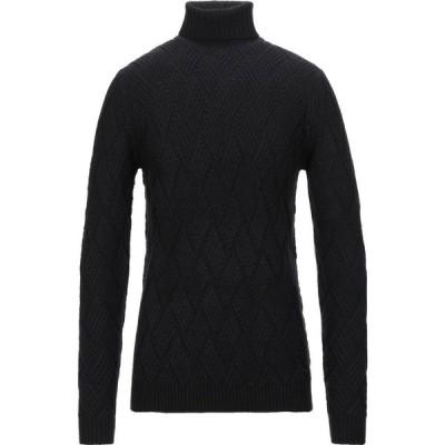 センス SSEINSE メンズ ニット・セーター トップス turtleneck Black