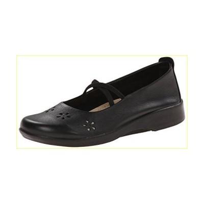 【並行輸入品】Arcopedico Leather Black Flower Shoe 9 M US
